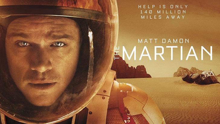 the martian astoronot uzay ve teknoloji filmleri