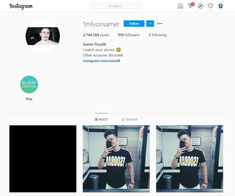 Instagram'da en çok gönderisi olan hesap