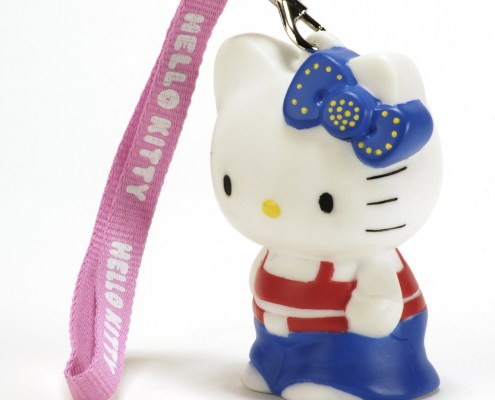 HELLO KITTY HIP HOP 8cm LED light with hand-strap 3
