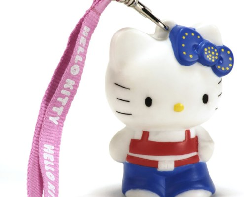 HELLO KITTY HIP HOP 8cm LED light with hand-strap 1