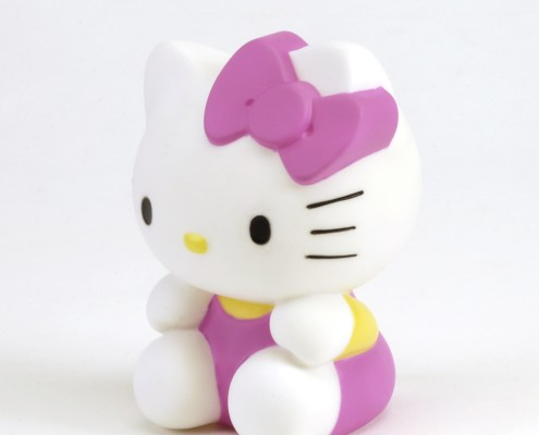 HELLO KITTY ROSE Wireless LED light 3
