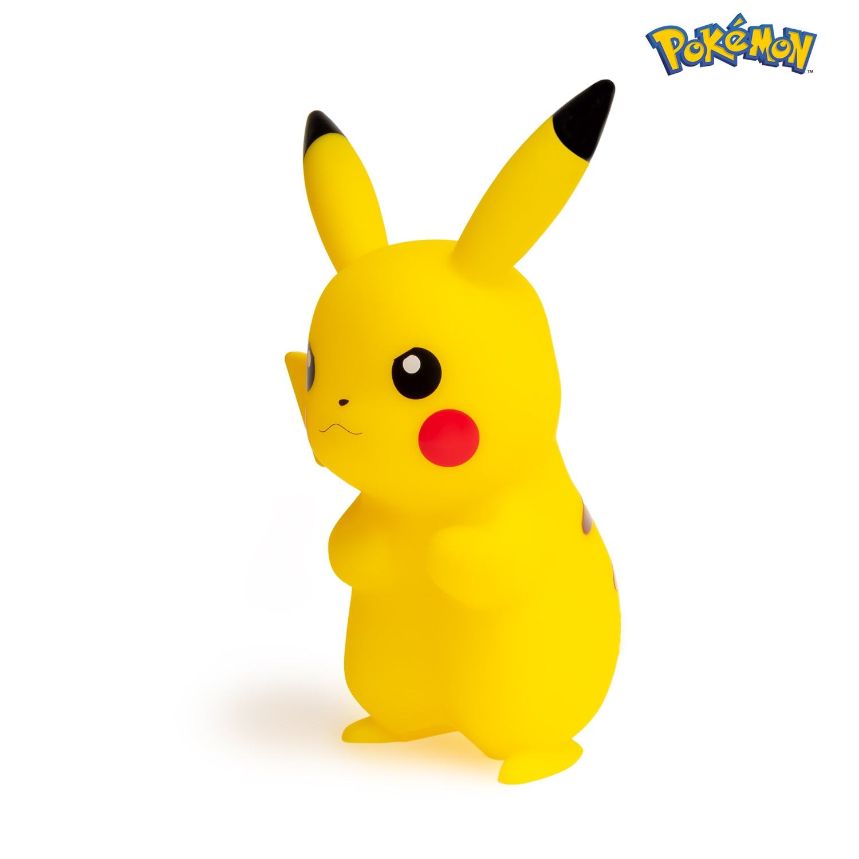 Lampe LED pokémon pikachu 25cm côté gauche