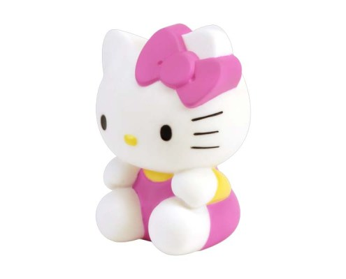 Figurine lumineuse Hello Kitty Assise 13 cm 1
