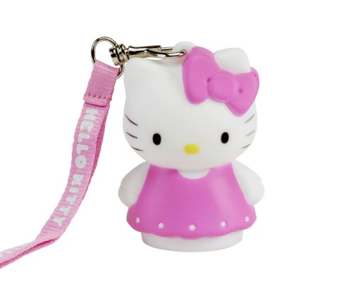Figurine lumineuse Hello Kitty Robe rose 8 cm 2