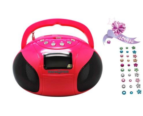 Mini Boombox Rose 3