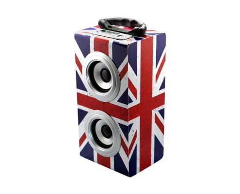 Wireless Tower Speaker UK GRUNGE 1