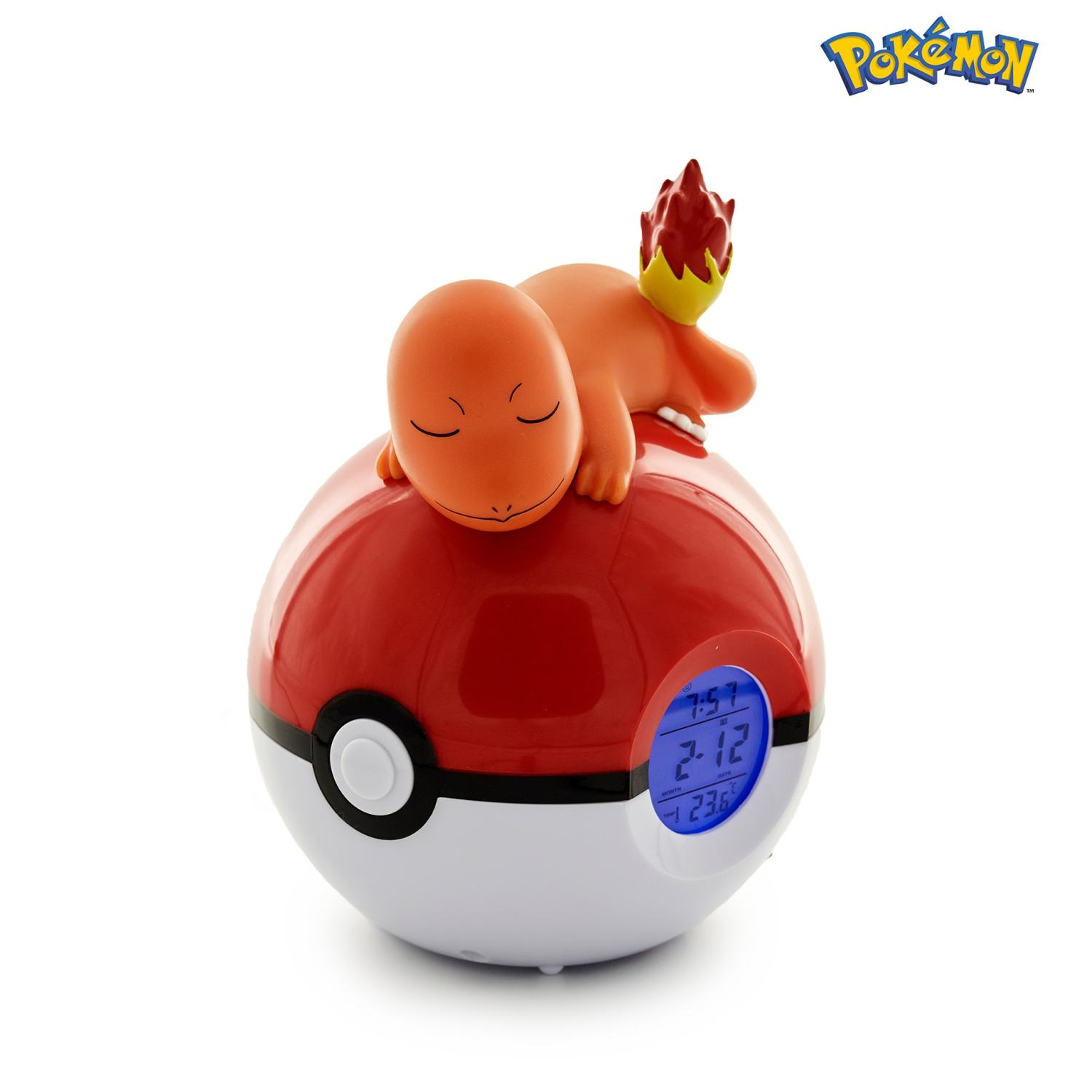 Charmander Light-up 3D figure FM Alarm Clock 1