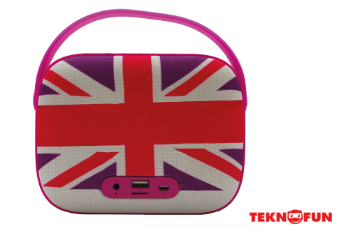 Enceinte sans fil radio FM UK Girly 2