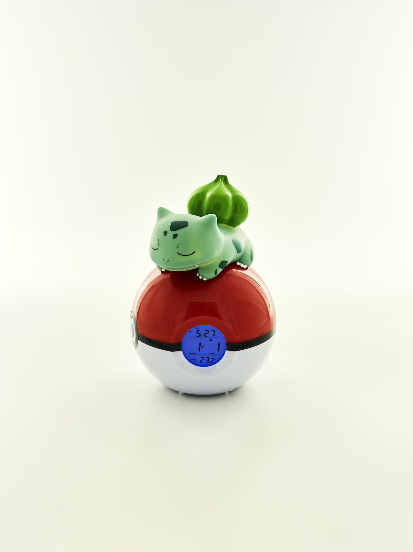 Pokémon Bulbasaur Night light and Alarm Clock 1