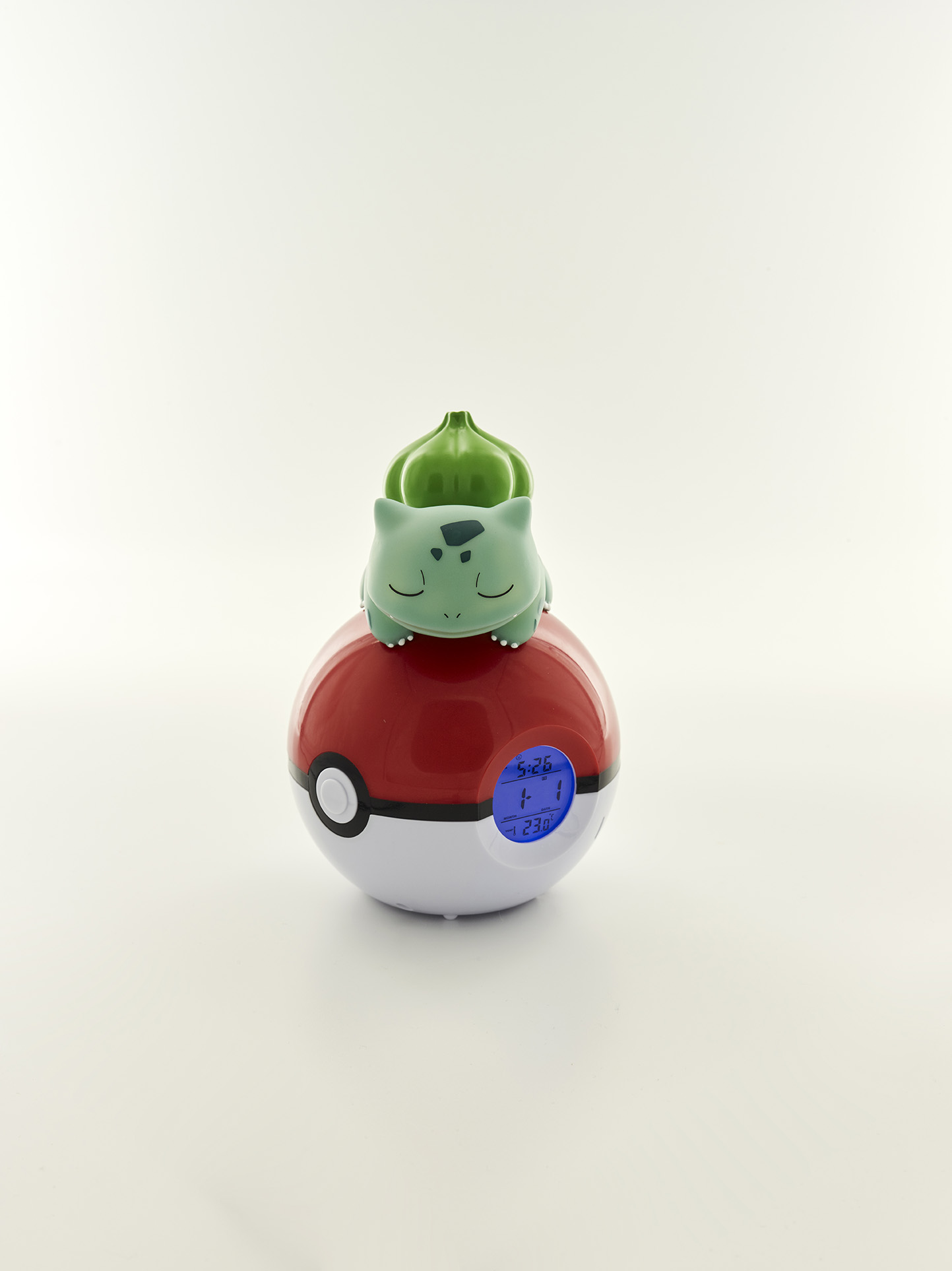 Pokémon Bulbasaur Night light and Alarm Clock 3