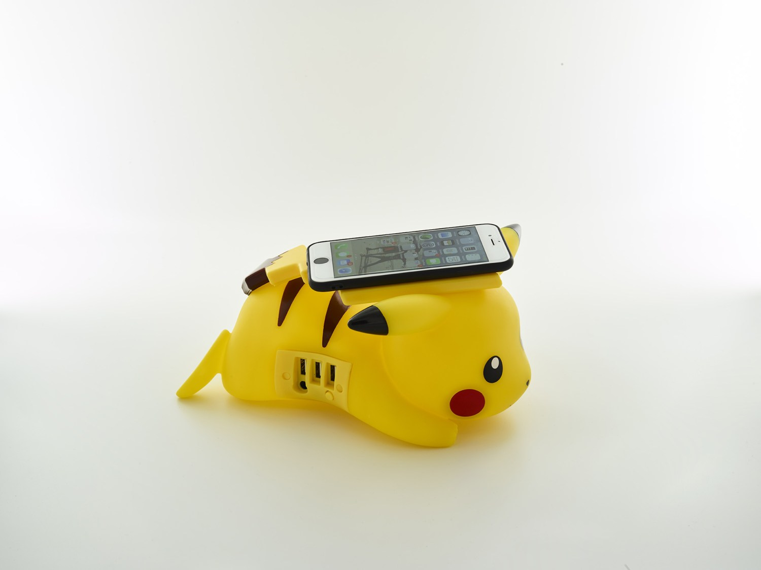 Pikachu wireless charger side view