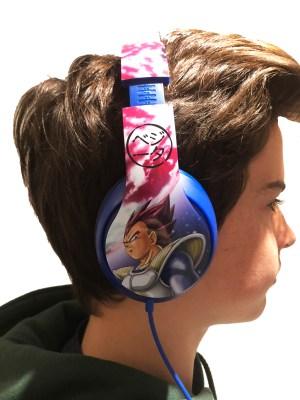 Dragon Ball Z Headphones 6