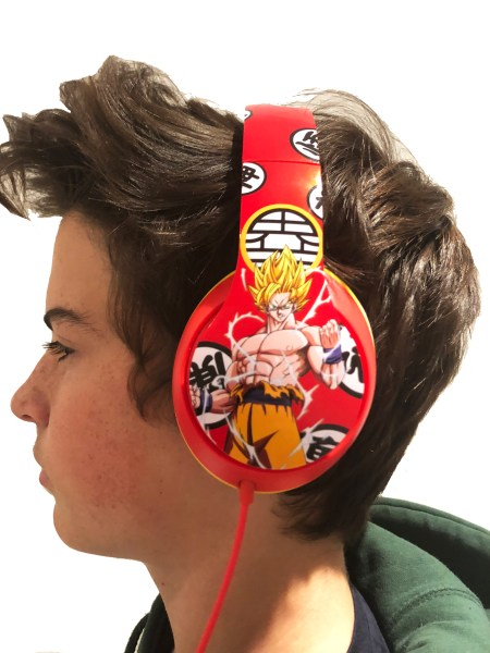 Casque audio Dragon Ball Z Goku & Vegeta Kaio 2