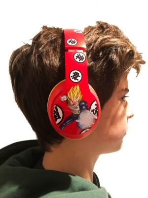 Dragon Ball Z Headphones 1