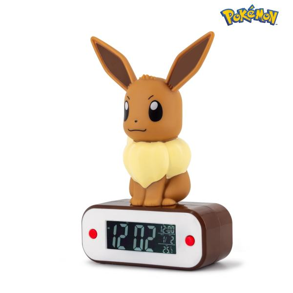 Pokémon Eevee Lamp & Alarm Clock 3