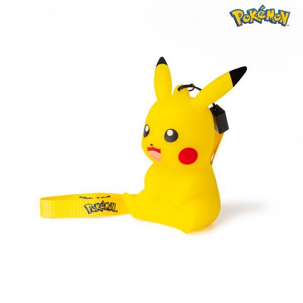 Figurine lumineuse pokémon pikachu 9cm côté gauche