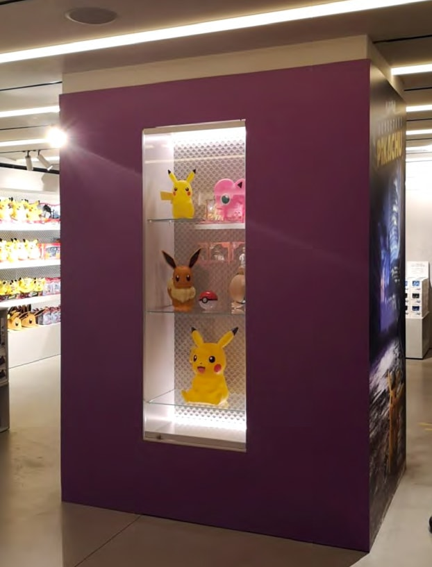 Nos produits Pokémon chez Harrods pour la sortie de Détective Pikachu 4