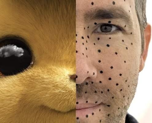 ryan reynolds détective pikachu