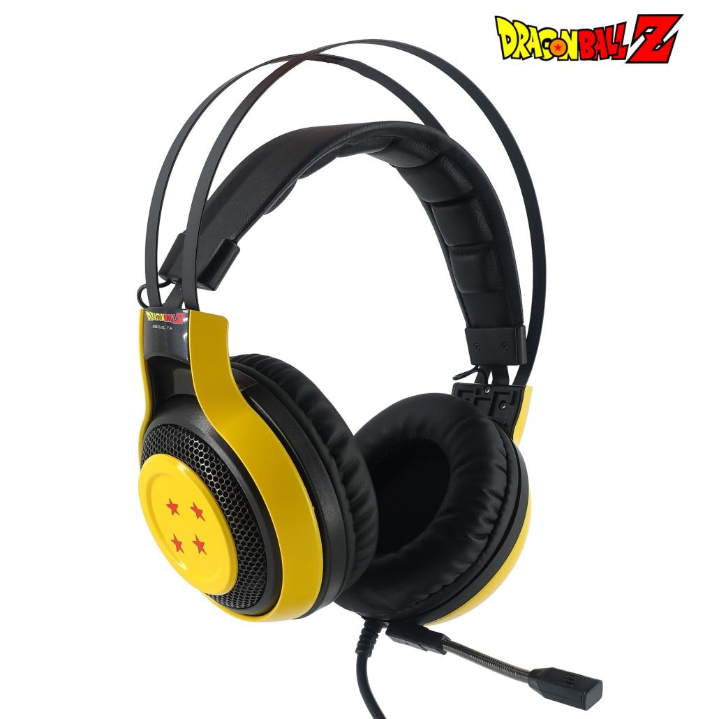 Auriculares Gaming Dragon Ball Z con micrófono 2