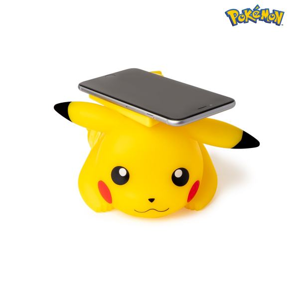 Cargador inalámbrico de smartphone Pikachu 4