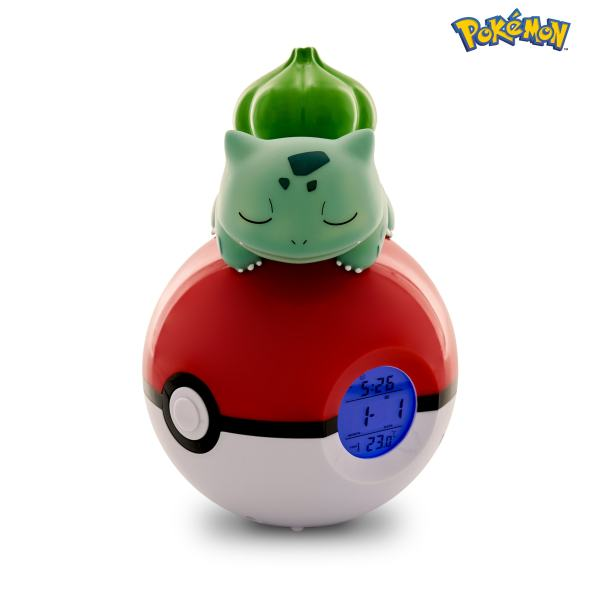 Radio-despertador Luminoso Pokémon Bulbasaur 3