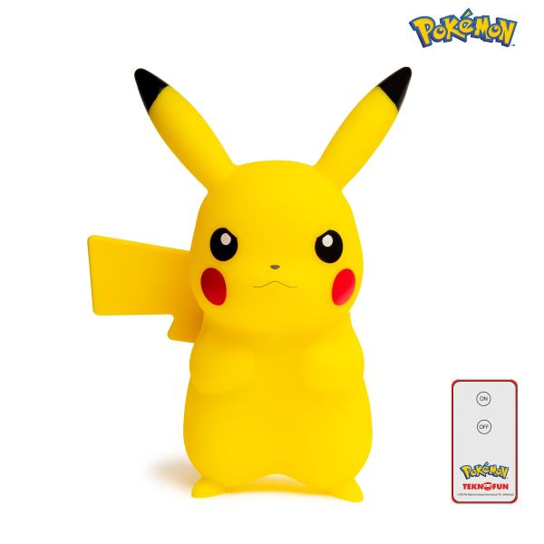 Figura Luminosa Pokémon Pikachu 25cm 3