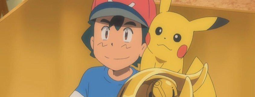 Après 20 ans, 22 saisons et 1078 épisodes, Sacha remporte la Ligue Pokémon 1