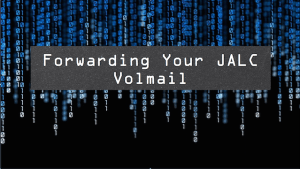Forwarding Volmail Slide