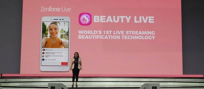 Beauty Live ASUS Zenfone Live