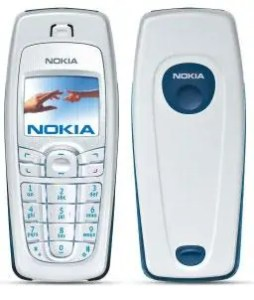 Nokia 6010 iliyotoka mwaka 2004