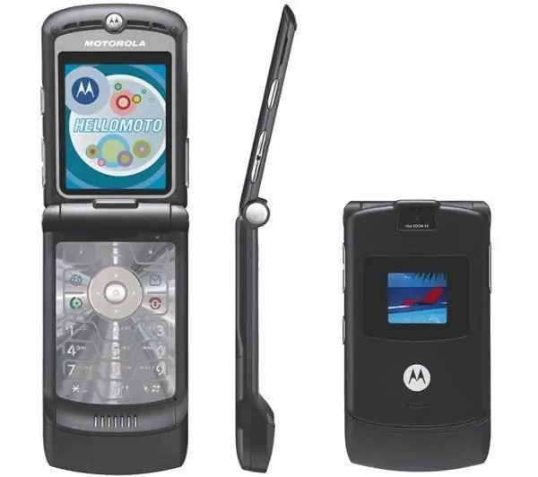 Muonekano wa Motorola RAZR V3
