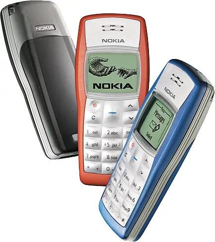 Ingawa Nokia 1100 na 1110 zinaoneshwa Kushindania namba 1, sehemu nyingi kama Wikipedia wanaiweka Nokia 1100 namba moja kimauzo