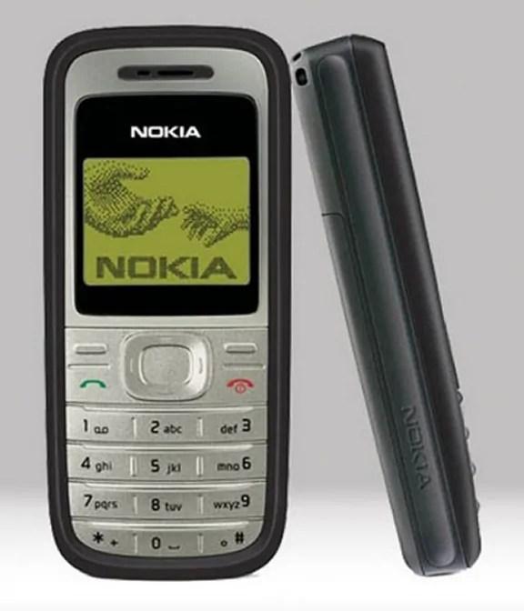 Muonekano wa Nokia 1200