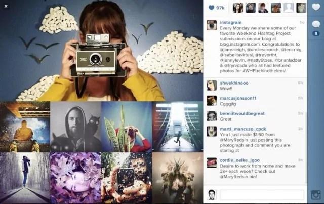 picha za instagram kua kubwa