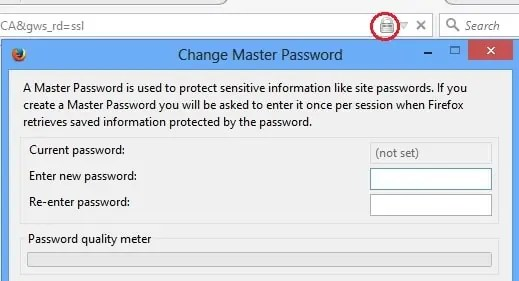 make-firefox-browser-password-protected