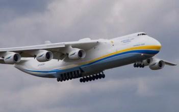 ndege kubwa zaidi duniani Antonov 255