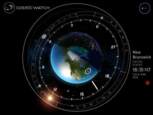 Cosmic watch: App yenye kueleza kuhusu mfumo mzima wa Jua