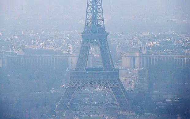 Hali ya hewa jijini Paris