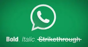 Whatsapp: Bold, Italic na Strikethrough