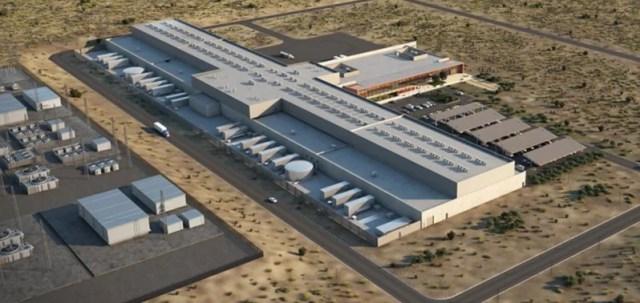 Data centre itakayojengwa New Mexico kuanzia Mwezi Oktoba.