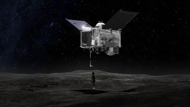 Osiris-Rex-Kifaa kilichotumwa na NASA kuchunguza sampuli za sayari.