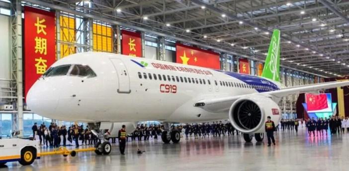 China yatengeneza ndege ya abiria ya kwanza: Hii ndiyo C919