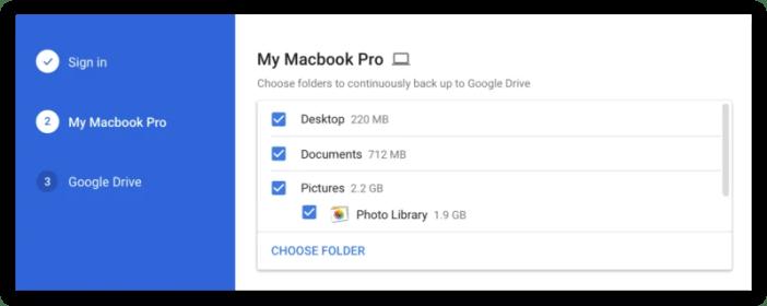 kubackup kompyuta nzima google drive
