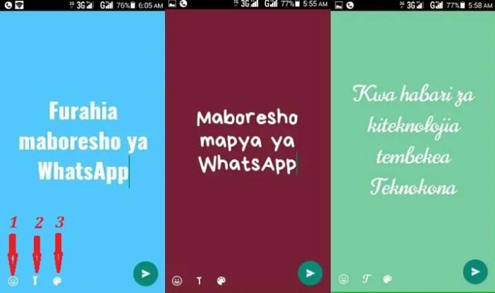 Toleo jipya la WhatsApp
