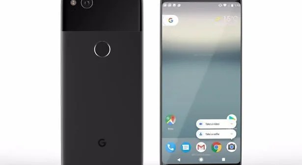 simu google pixel 2 Alama za vidole kimeo katika simu za Pixel 2