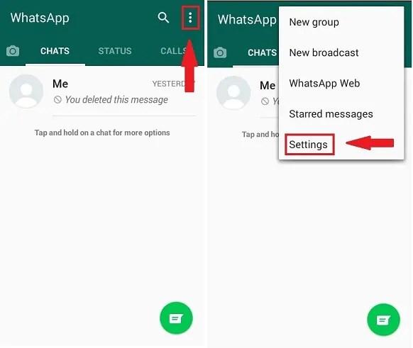 Jinsi ya kufuta kabisa akaunti ya WhatsApp
