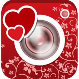 Bliss Camera Valentine Frame