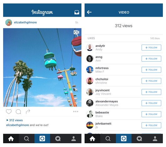 cara melihat viewer video instagram