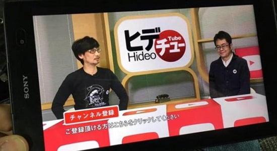 Hideo Kojima Hadirkan HideoTube