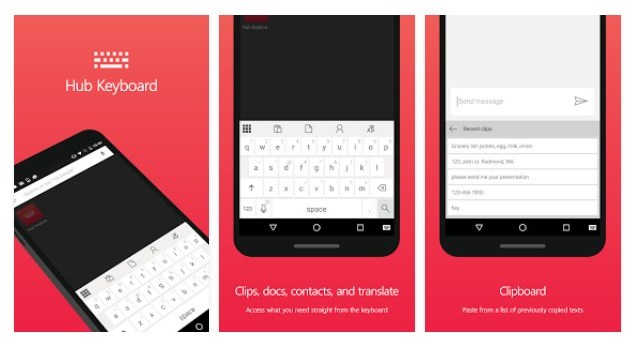 Hub Keyboard, Microsoft, Android, Microsoft Garage
